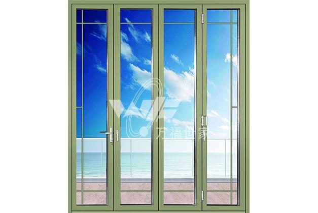 广东铝合金折叠门